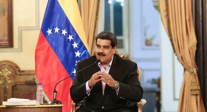 Maduro disse que adotará ações legais para contestar sanções