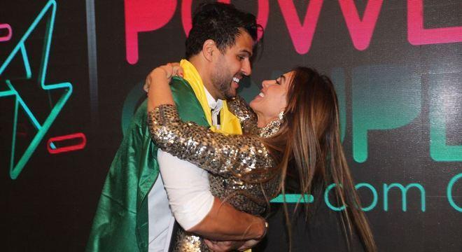 Marcelo Bimbi e Nicole Bahls venceram o 'Power Couple Brasil 4'