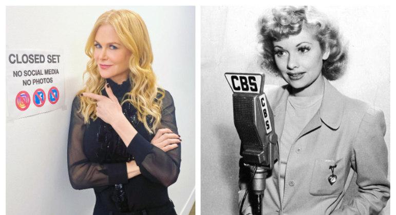 Nicole Kidman dará vida a lendária atriz Lucille Ball