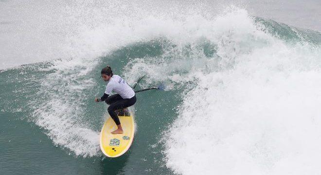 'Foi um desafio muito grande', contou a surfista Nicole Paceli, de 28 anos