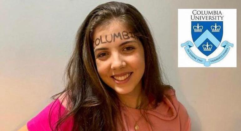 Nicole Vieira, 18 anos, aprovada na Univerisade de Columbia nos Estados Unidos