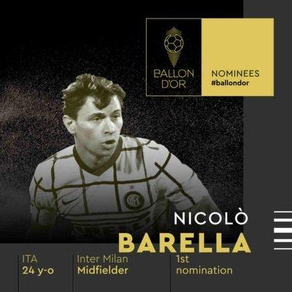 Nicolò Barella (italiano) - meia - Inter de Milão