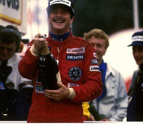 Nigel Mansell disputou 72 corridas até vencer o GP da Europa de 1985