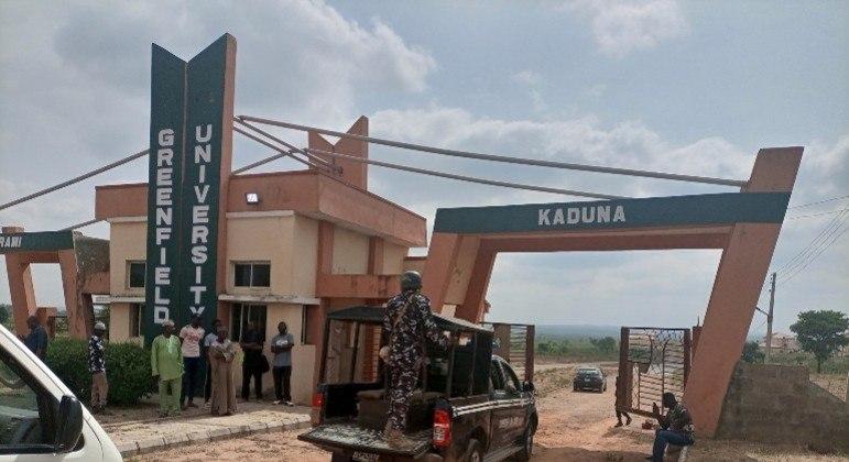 Homens armados que atacaram uma universidade no estado de Kaduna, no norte da Nigéria