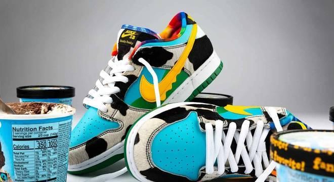 Nike Dunk da Ben & Jerry's