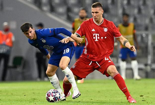 Niklas Süle - 25 anos - Zagueiro - Clube: Bayern de Munique - Contrato até: 30/06/2022