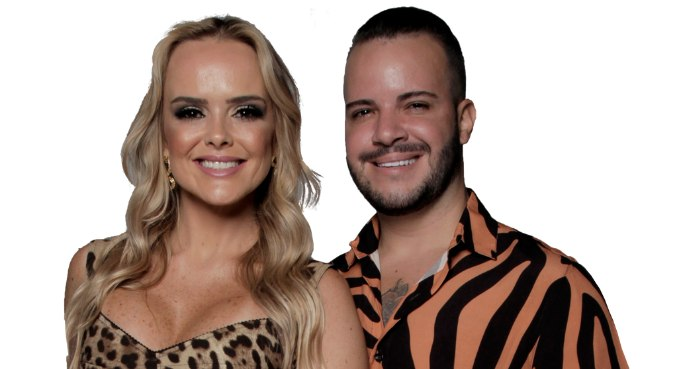 Nina e Filipe são o sétimo casal eliminado de Power Couple