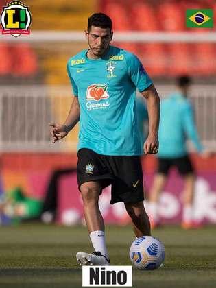 Nino - 6,0 - Zagueiro do Fluminense não teve tanto trabalho com o ataque da Alemanha, que pouco criou na partida, mas tentou chegar no abafa no fim do jogo.