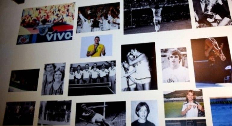 Nino - sala de troféus do Fluminense