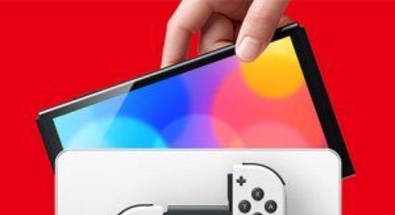 Nintendo anuncia novo modelo do Switch com tela OLED de 7 polegadas