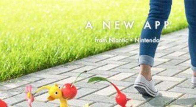 Nintendo anuncia novo Pikmin para celulares feito pela equipe de Pokémon Go