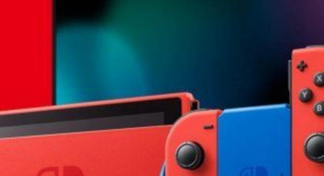 Nintendo Switch terá edição especial em comemoração ao 35º aniversário de Mario