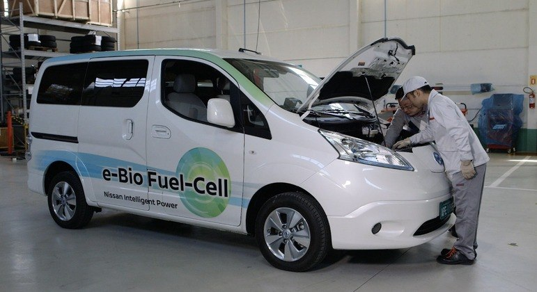 Etanol gera o hidrogênio para aumentar o desempenho do carro sem poluir o meio ambiente