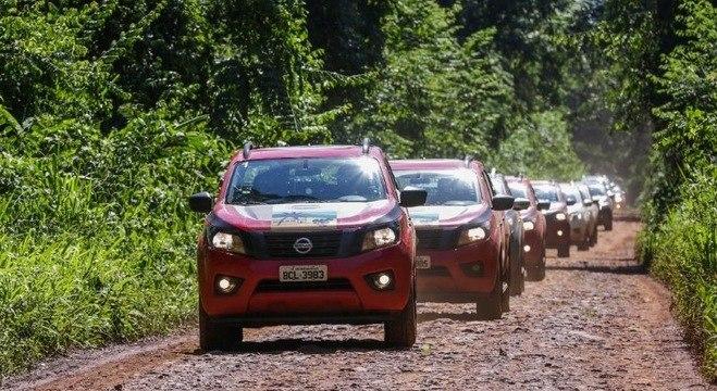 """Expedição """"Na rota dos Patrimônios do Brasil"""" rodou 750km pelo Sul do País e Argentina"""
