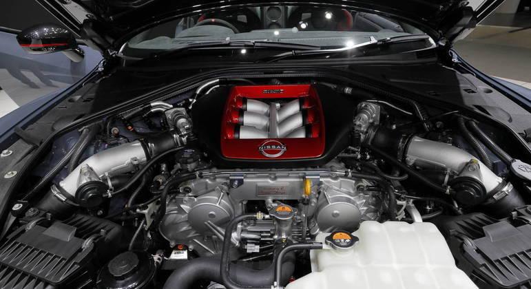 Modelo vem equipado com motor VR38DETT V6 de 3,8 litros com duplo turbo