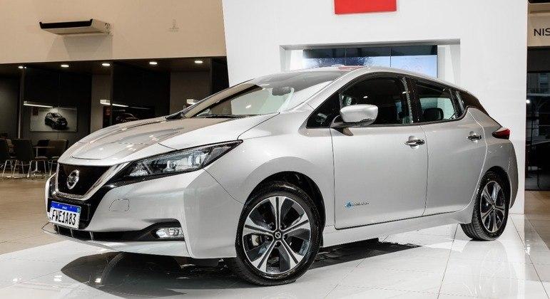 Carro elétrico conta com baterias de 40 kWh divididas em 24 módulos sob o assoalho
