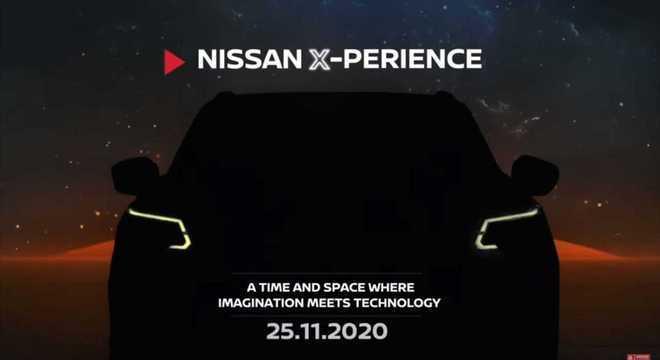 A Nissan divulgou um teaser da nova Terra, proposta de SUV com base de chassi da pick-up Frontier.