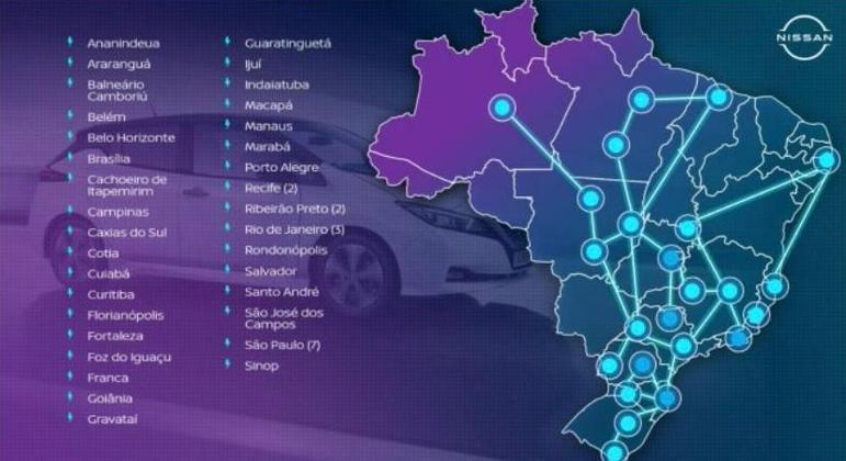 No estado de São Paulo serão oito cidades, além da capital que já oferece revenda apta a comercializar o modelo