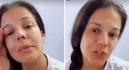 Nivea Stelmann passa por cirurgia de emergência