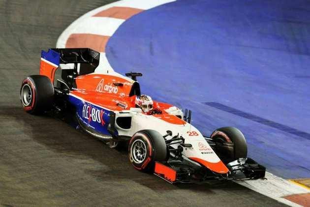 No ano seguinte, com problemas financeiros, o time - agora chamado de Manor - precisou de uma autorização especial para correr com a versão B do carro de 2014