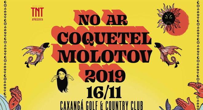 No Ar Coquetel Molotov: festival anuncia line-up incrível em 2019