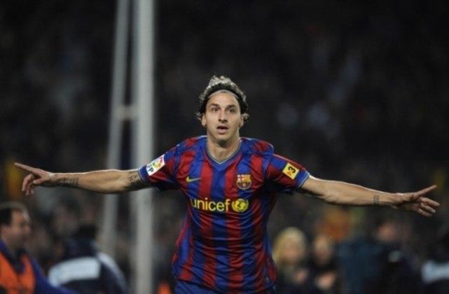 No Barcelona, Ibra não deixou de ser falastrão e soltou o verbo, principalmente contra Pep Guardiola, seu treinador na época.