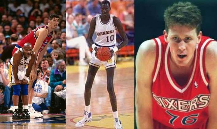No basquete em geral, sempre houve um ou outro jogador maior do que a média. Na NBA, principalmente. Confira os jogadores mais altos de todos os tempos na liga