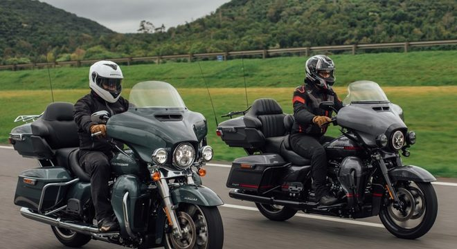 No Brasil, a Harley vende cinco modelos da linha Touring / Guilherme Veloso/Harley-Davidson do Brasil