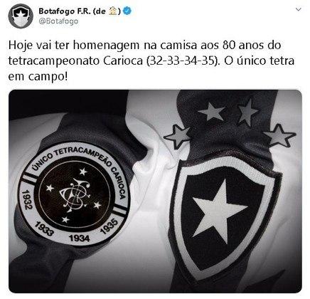 No Campeonato Carioca de 2016, uma troca de farpas reacendeu a rivalidade. O Botafogo lançou um uniforme com o detalhe