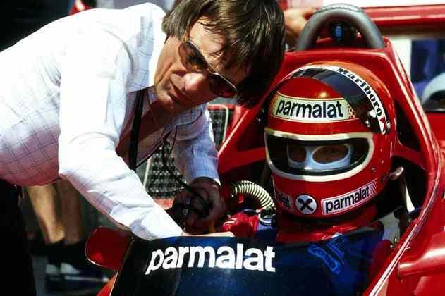 No comando da equipe, Bernie assinou com Niki Lauda em 1978 para correr com o especial BT46, um dos carros mais revolucionários da história da F1