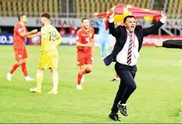 No comando da Macedônia do Norte desde 2015, Igor Angelovski conseguiu levar a sua equipe até a disputa da Eurocopa. Angelovski conta com a participação de Goran Pandev, lendário jogador do país, para a disputa da competição