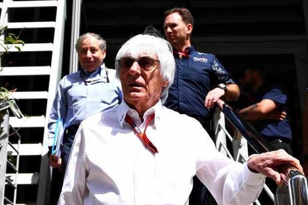 No comando da parte comercial da F1, Ecclestone viveu tragédias, como a morte de Ayrton Senna, e momentos tensos, como o fiasco no GP dos Estados Unidos de 2005