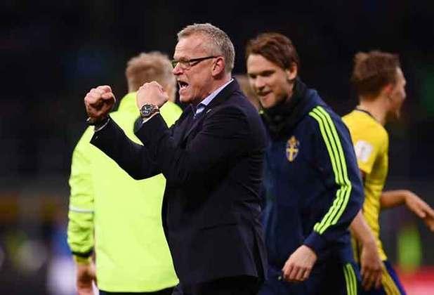 No comando da Suécia desde junho de 2016, Jan Andersson carregou a sua equipe até as quartas de final da Copa do Mundo de 2018. Na Eurocopa deste ano, o treinador busca repetir a boa campanha