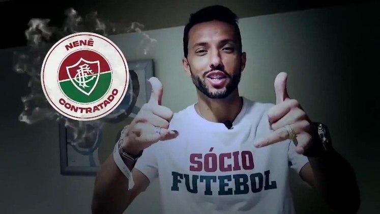 No dia 15 de julho de 2019, o Fluminense anunciou a chegada de meia Nenê, com contrato até dezembro de 2020. Depois de assinar uma rescisão amigável com o São Paulo, o jogador chegou ao Tricolor como segundo reforço da gestão Mário Bittencourt e Celso Barros.