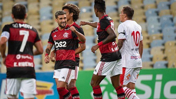 No dia 18 de junho, o Flamengo derrotou o Bangu por 3 a 0 no Maracanã na retomada do futebol. Boavista e Portuguesa empataram sem gols.