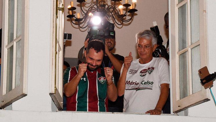 No dia 8 de junho de 2019, Mário Bittencourt foi eleito presidente do Fluminense para um mandato de três anos e meio. O advogado bateu o adversário Ricardo Tenório nas urnas e teve 2225 votos, a maior quantidade na história das eleições tricolores com uma chapa ao lado de Celso Barros, presidente da Unimed-Rio. Celso acumulou funções no início da gestão, sendo vice-presidente geral e vice de futebol.