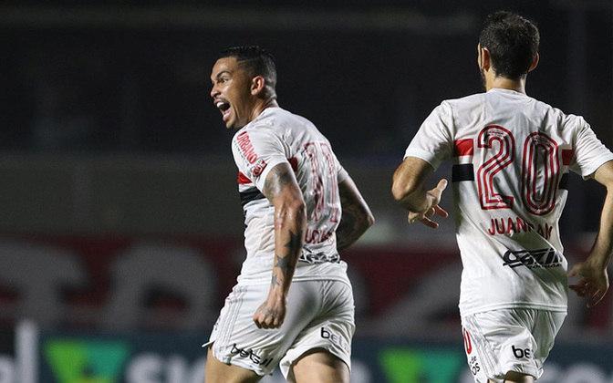 No dia 9 de setembro, contra o Bragantino, o resultado foi empate por 1 a 1, gol de Luciano para deixar tudo igual