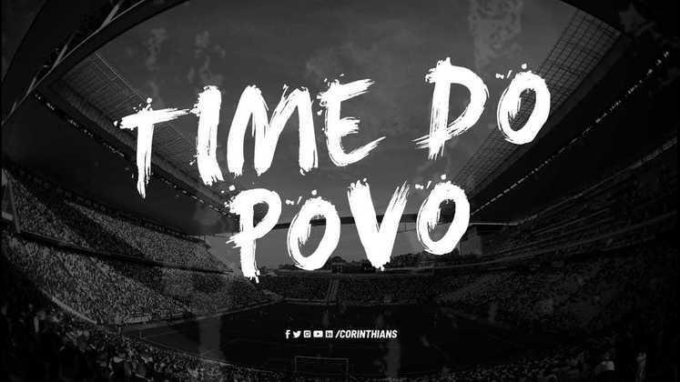 No dia em que o jogo do Mundial de Clubes de 2012, vencido pelo Corinthians, foi reprisado na TV, o clube também defendeu a luta contra o preconceito nas redes sociais.