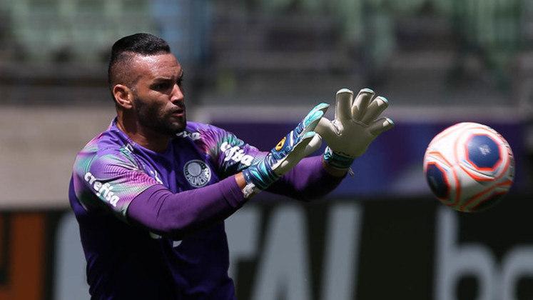 No entanto, os goleiros de menor média de gols sofridos são outros: Weverton, do Palmeiras, e Oliveira, do Novorizontino, ambos com 0,4 gol sofrido por duelo