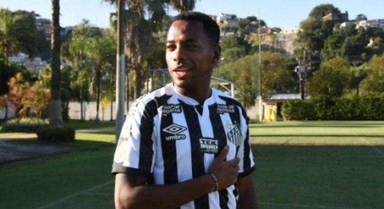 Robinho voltaria ao Santos, mas teve seu contrato suspenso em 2020