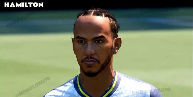 No FIFA 21, Hamilton deve aparecer no modo VOLTA, ao lado de outras estrelas importantes.