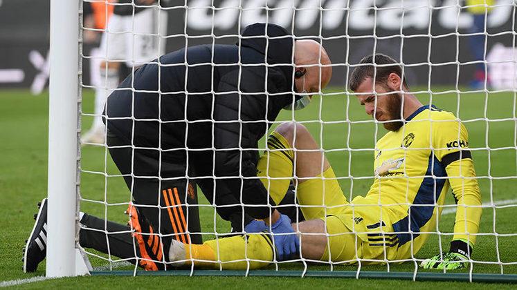 No fim de semana ele falhou na vitória de 3 a 2 sobre o Southampton e ainda deixou o gramado lesionado.