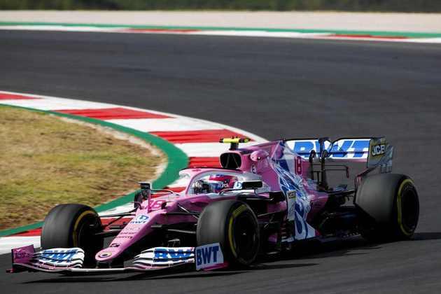 No fim do TL2, Stroll foi acertado por Verstappen na curva 1 e trouxe bandeira vermelha para a sessão