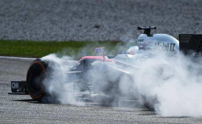No GP da Austrália de 2016, o espanhol protagonizou um assustador acidente