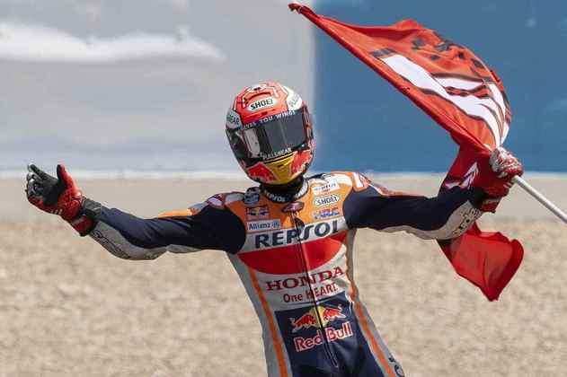 No GP da Espanha de 2019, Marc Márquez venceu a corrida 300 da MotoGP
