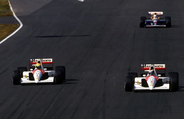 No GP do Japão de 1991, Ayrton Senna abriu o caminho para Gerhard Berger na última volta. O austríaco venceu a corrida, o brasileiro conquistou o tricampeonato mundial