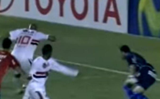 No jogo da volta de 2008, o Tricolor bateu o Nacional por 2 a 0, no Morumbi.