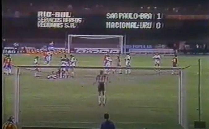 No jogo da volta, no Morumbi, o São Paulo voltou a vencer, desta vez por 2 a 0, com gols marcados por Ronaldão e Zago.