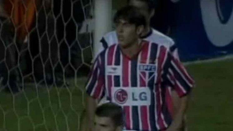 No jogo da volta, também no Morumbi, o São Paulo venceu por 2 a 1, mas foi eliminado da competição. Kaká e Reinaldo marcaram para o Tricolor, enquanto Deivid fez para o Alvinegro.
