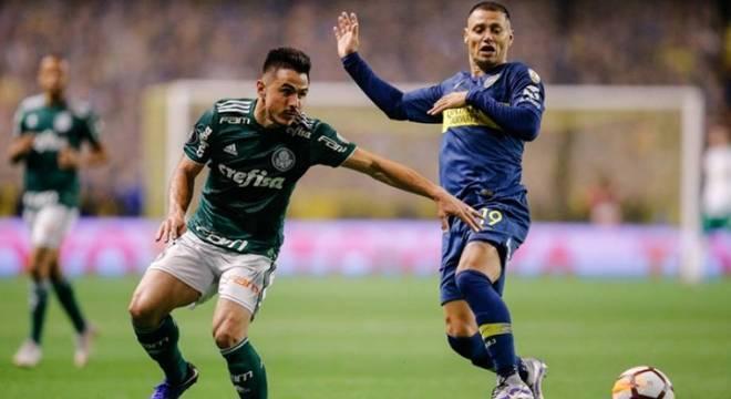Palmeiras e Boca Juniors definem hoje, em São Paulo, vaga na final da Libertadores